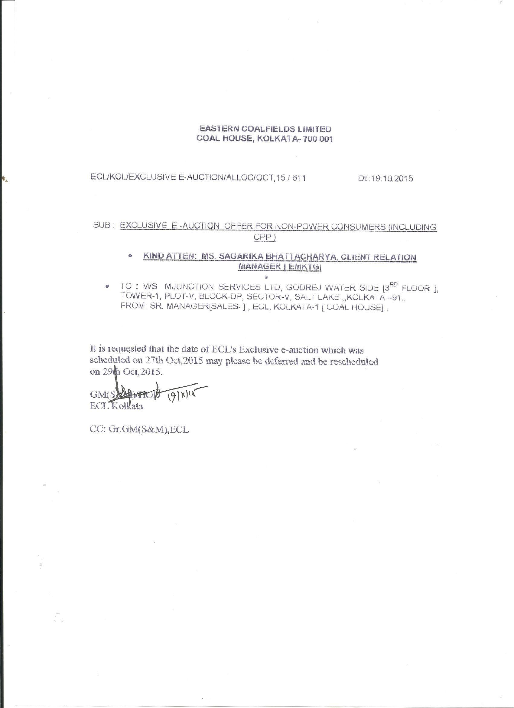 postponement notice 29